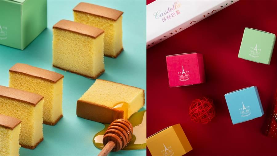 昂舒巴黎與7-ELEVEN聯手推出訂製款蜂蜜蛋糕。(圖/品牌提供)