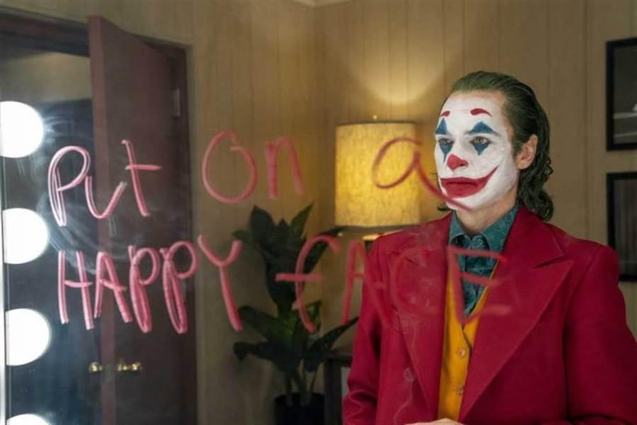 《小丑》獲得各界好評。(華納兄弟提供)
