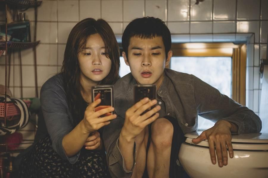 《寄生上流》打破南韓影史紀錄。(CatchPlay提供)