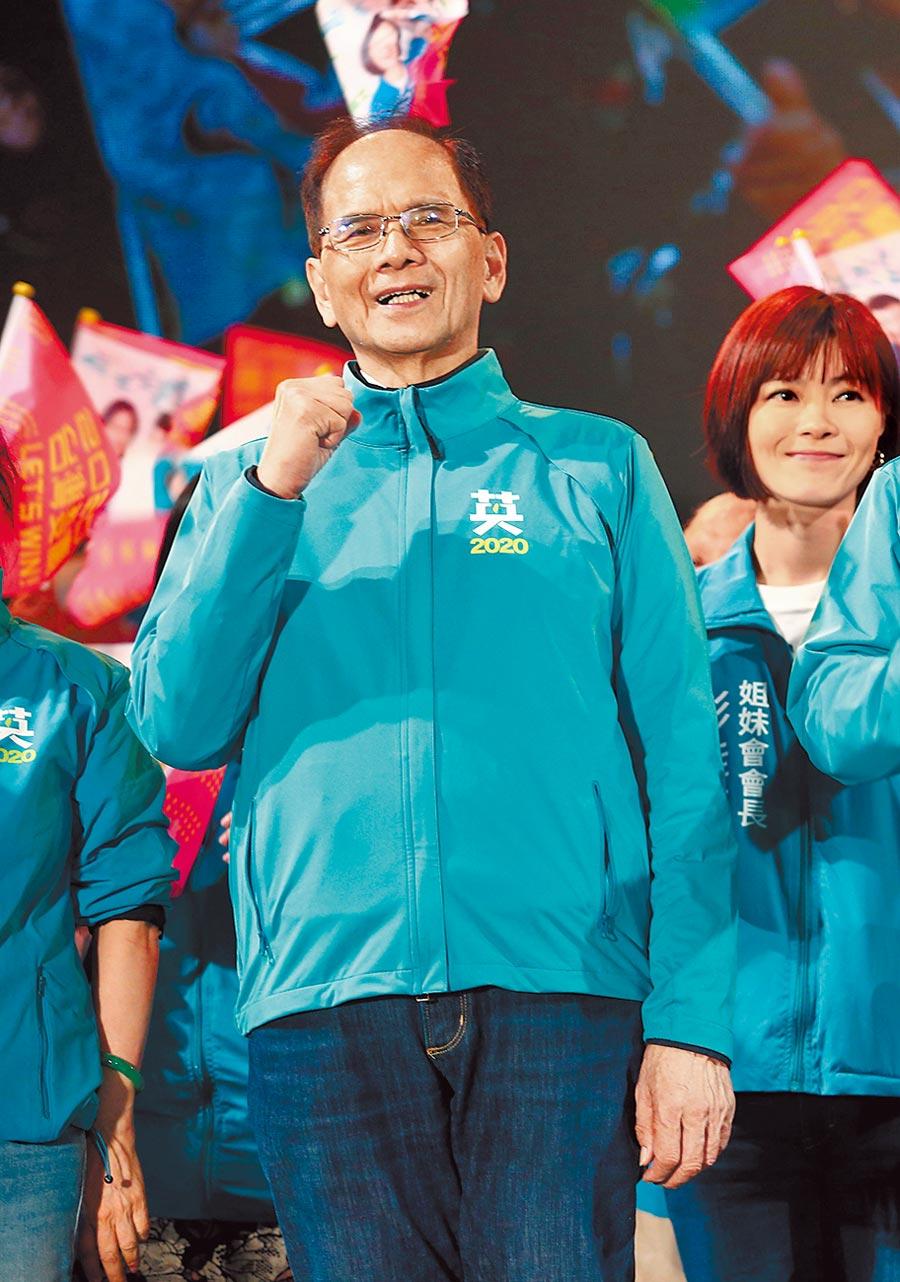 前行政院長游錫堃。(本報資料照片)