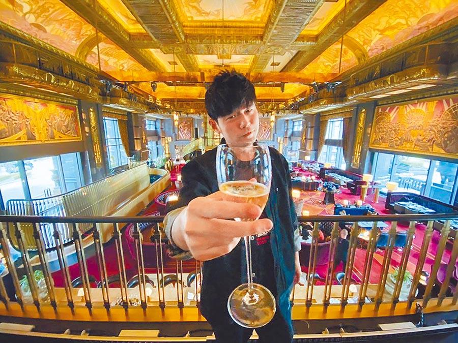 周杰倫演唱會隔天光臨新加坡當地餐廳。(摘自周杰倫IG)