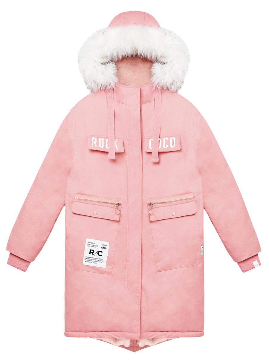 出國度假夯品,SOGO忠孝館ROCKCOCO潮玩青春防寒外套,3680元。(SOGO提供)