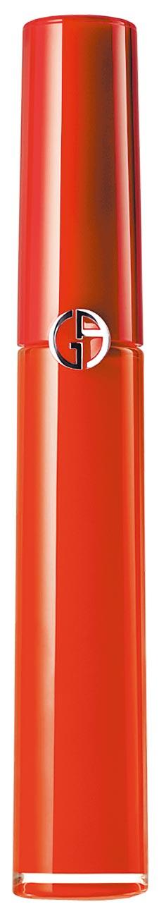 林志玲愛牌、韓國熱賣色,SOGO忠孝館GIORGIO ARMANI復古玫瑰系列#415楓紅玫瑰1280元,限量50支。(SOGO提供)