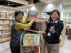 苗栗縣立圖書館 趕春節前上架1000多本新書