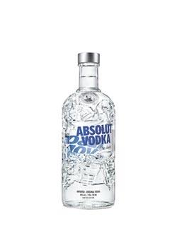Absolut絕對伏特加 推限量版酒瓶
