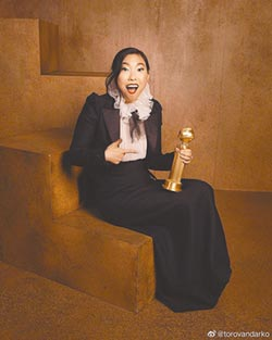 粉碎刻板印象 亞裔女星捧金球