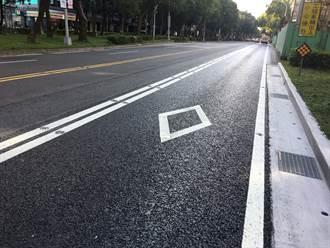台北》拯救公車專用道 敦化南路試用「石膠泥瀝青混凝土」
