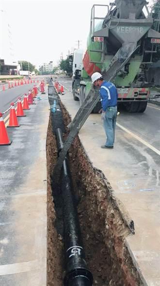 確保農曆年節供水品質 台水汰換126公里老舊管線