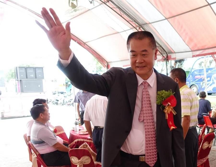 國民黨不分區立委當選人林文瑞也是中常委,但他不打算跟進辭中常委。(許素惠攝)