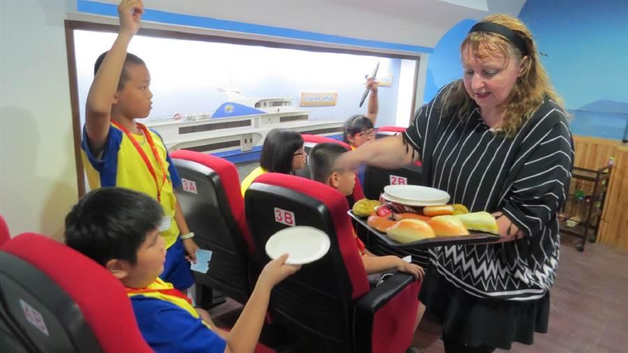 雲林縣政府推動雙語教育,選定水燦林國小及水林國中做為示範學校。(水燦林國小提供/張朝欣雲林傳真)