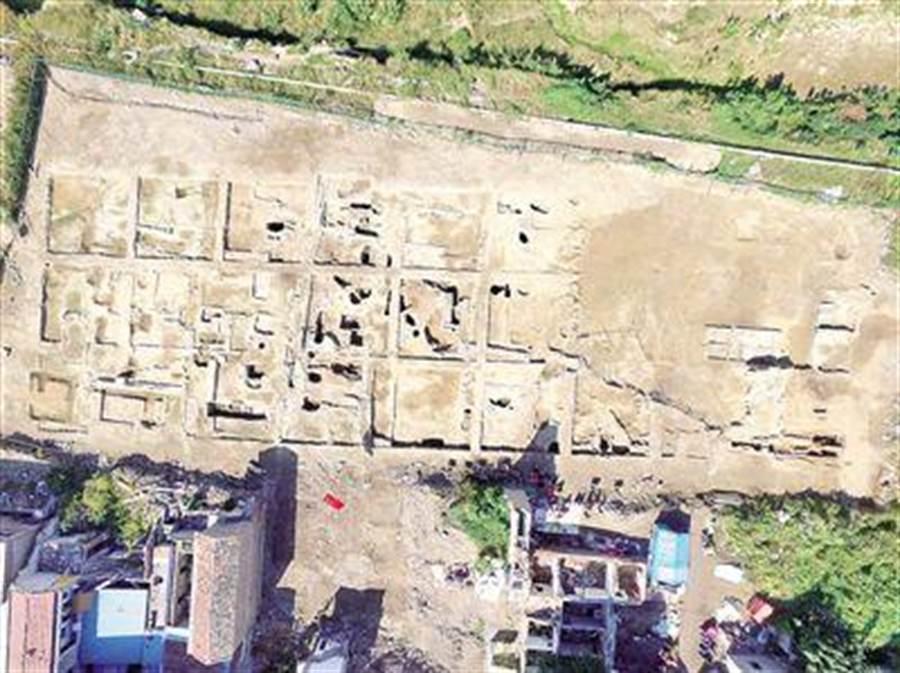 安徽省濉溪縣的長豐街明清釀酒作坊群遺址。(安徽文物考古研究所提供)
