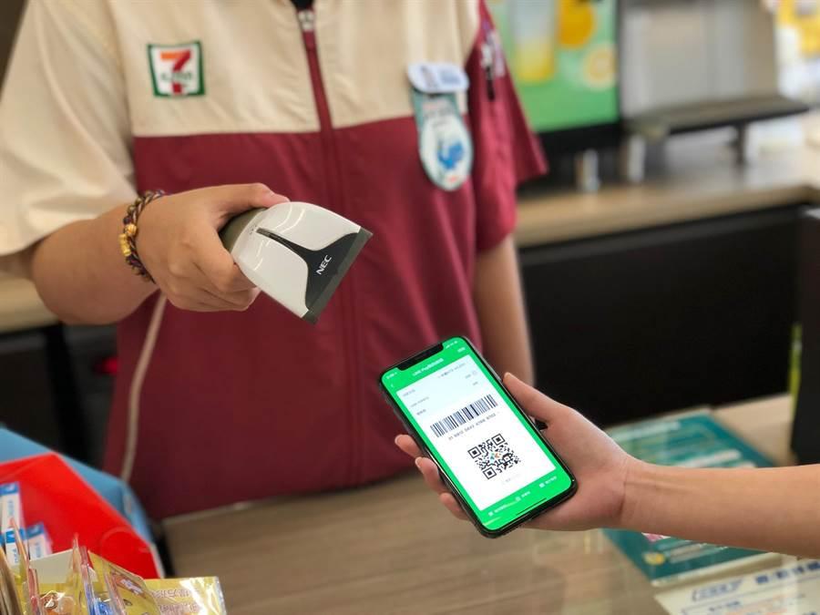 LINE Pay Money串聯7-ELEVEN,發15萬份開運紅包迎鼠年。(一卡通提供)