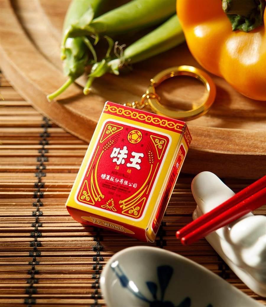 濃濃古早味的味精造型悠遊卡,標記著它曾是台灣人非常熟悉的美味記憶 。(圖/悠遊卡公司提供)