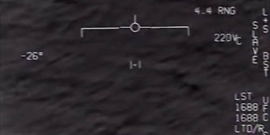 F/A-18E戰機表示,他們目擊的到UFO體積很小,而且飛行速度很迅捷,光電系統試了幾次才成功標定。(圖/美國海軍)