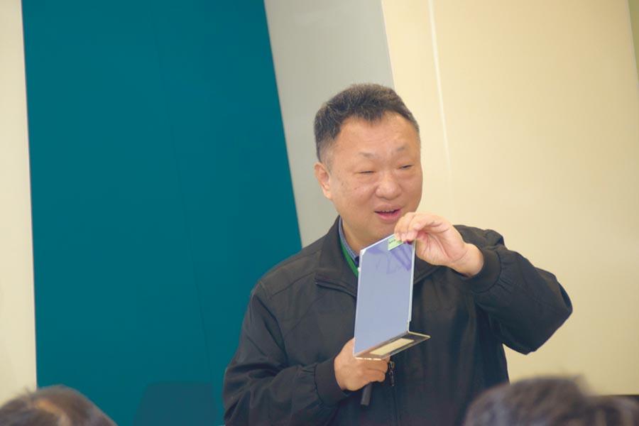 達勝科技董事長孫德崢博士。圖/張秉鳳