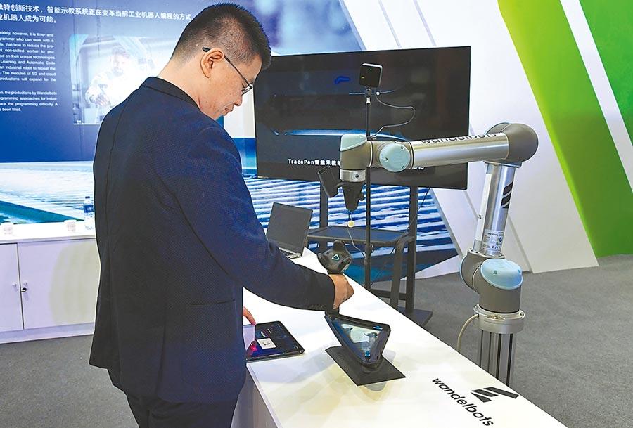 數位經濟是大陸發展主戰場。圖為2019年10月16日,中關村國際前沿科技成果展在北京開幕。(新華社)