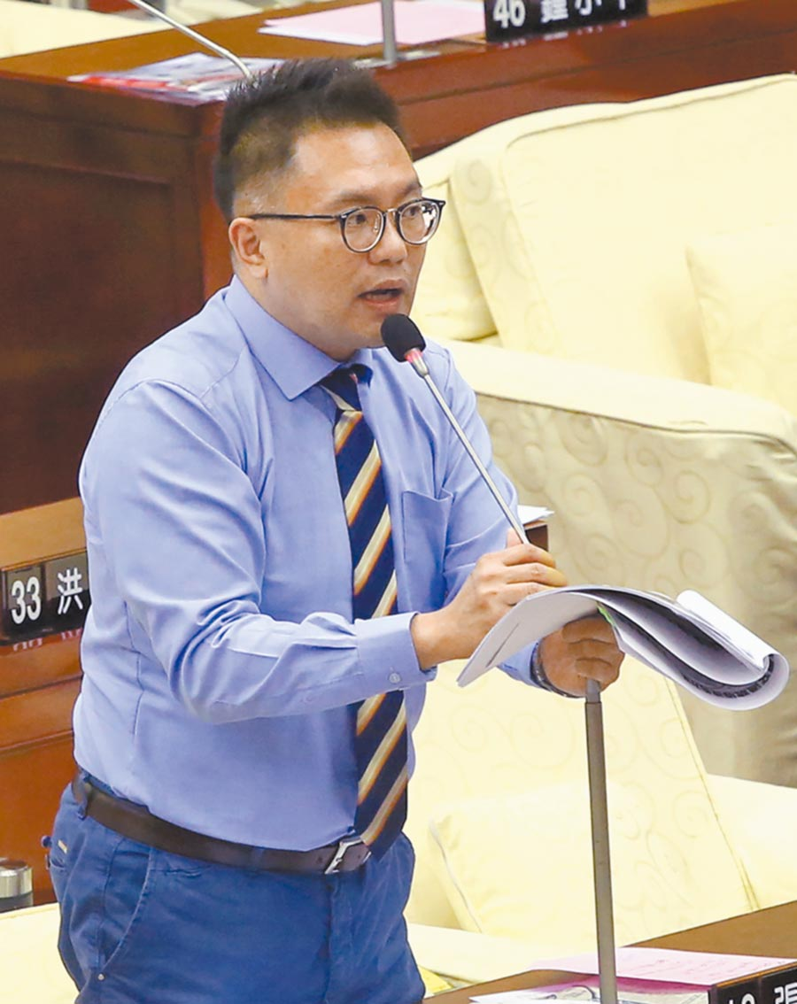 台北市議員張斯綱。(本報系資料照片)