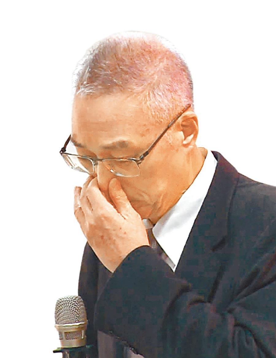 中常委轟吳敦義多拖一天,國民黨就多傷害一天。(本報系資料照片)