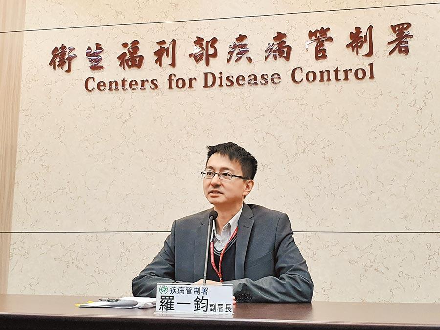 疾病管署副署長羅一鈞13日表示,疾管署已派2名專家到武漢查訪,12日晚間已抵達。(中央社)
