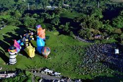 台東去年景點遊客破800萬人次 鹿野熱氣球居冠