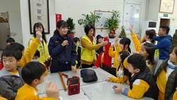 大忠國小警局參訪 警察姊姊分享故事