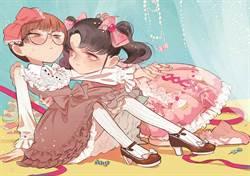 台灣百合在法國 《粉紅緞帶》參展安古蘭漫畫節