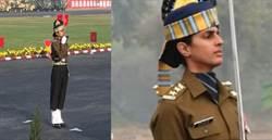印度共和日慶典 首見女遊行副官