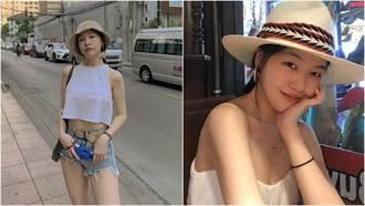 珉雅高衩泳裝解放身材!吸氣「美胸彈出」網暴動