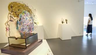 新竹市玻璃藝術家 聯展期薪水相傳