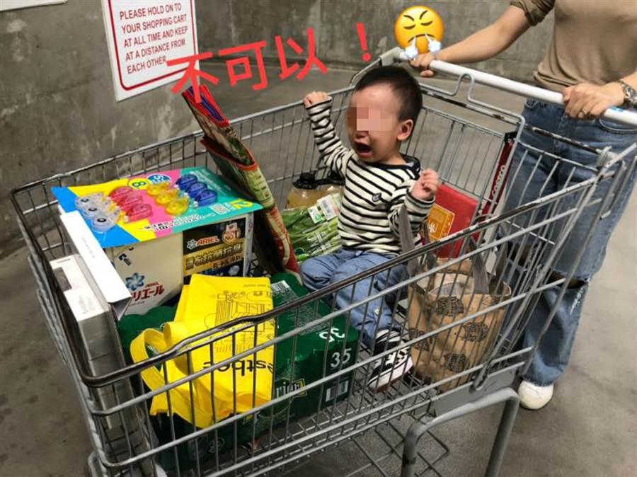 原PO表示最後沒買,兒子嚎啕大哭,花了一翻力氣才把他架走 (圖/翻攝自Costco好市多 商品經驗老實說)