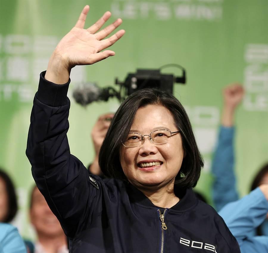 蔡英文總統勝選後首度接受BBC專訪,重申台灣主權沒有談判空間,大陸應該尊重。(圖/美聯社)