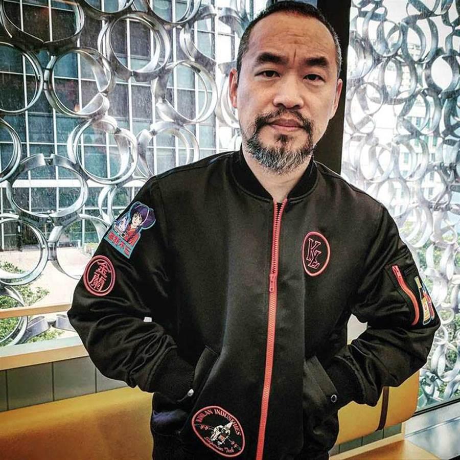 黃立成外傳是《壽司店傳奇》的投資者之一,他過去也曾與九把刀合作電影《變身》。(圖/翻攝自臉書)