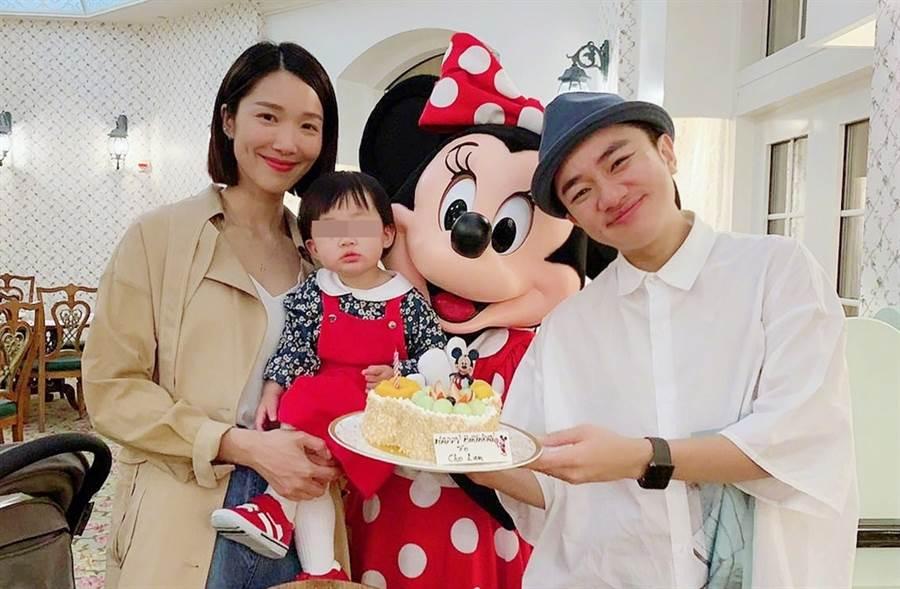 王祖藍與李亞男結婚近5年。(圖/翻攝自李亞男LL微博)