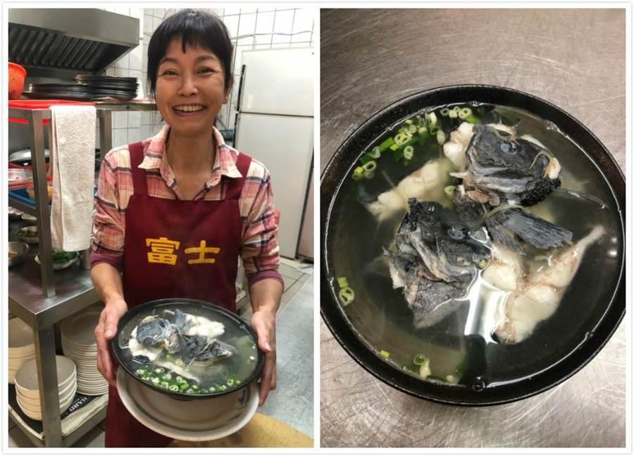 新鮮黑毛清蒸和魚湯料理,簡單步驟,享用最原始的海味。(圖取自新北市漁業處官網)