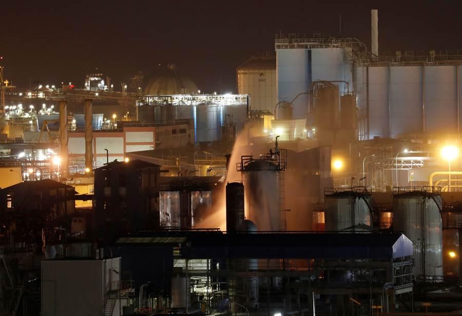 西班牙東北部發生化學工廠爆炸事故。(路透社)