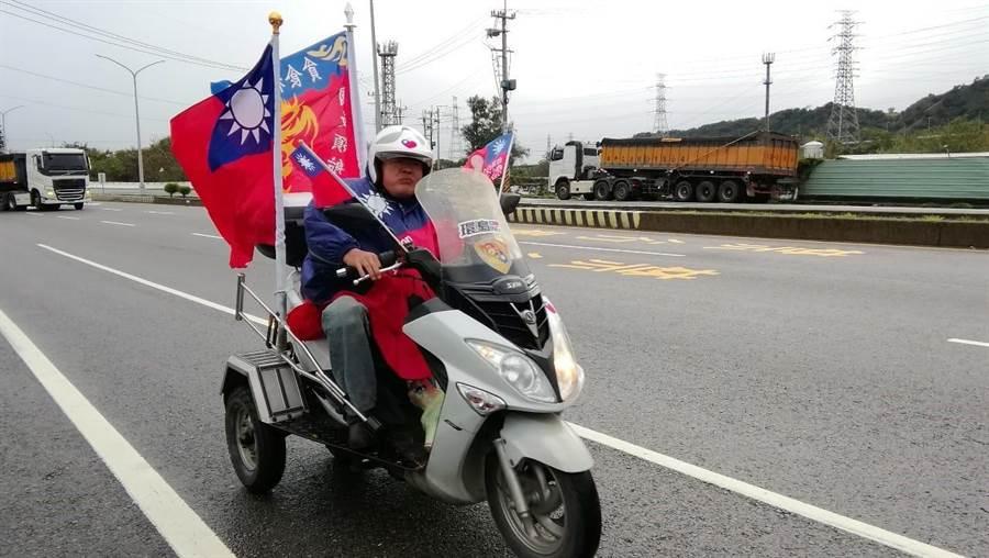 網友臉書發文附圖。(圖/翻攝自臉書「韓家軍 市政宣揚」)