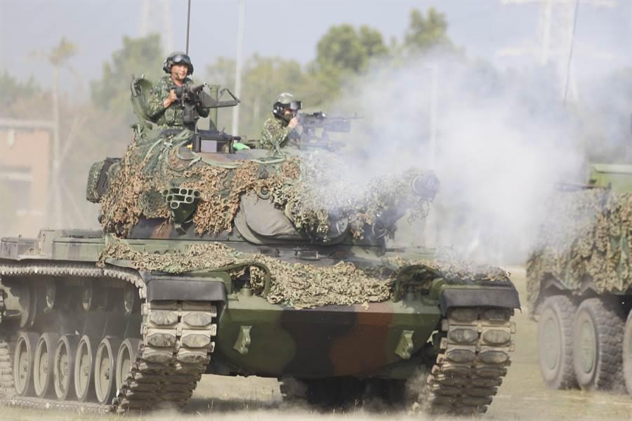 564旅以聯合兵種作戰驗証新形態作戰。(張鎧乙攝)