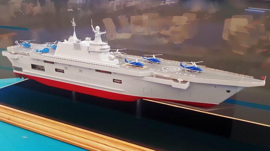 俄國完成兩棲突擊艦的合約簽訂,造船廠稱5月安龍骨。(圖/俄國衛星)