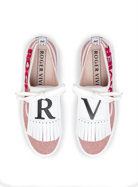 Roger Vivier Call Me Vivier休閒鞋,3萬2800元。(Roger Vivier提供)
