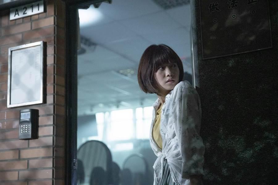 嚴正嵐曾演出《屍憶》,新片《女鬼橋》被導演力讚「尖叫專業戶」。(傳影互動提供)