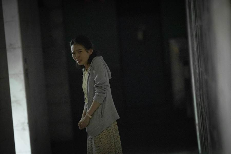 詹宛儒曾演出《紅衣小女孩2》精湛表現,新片《女鬼橋》憑眼眶就讓人感受到恐懼。(傳影互動提供)