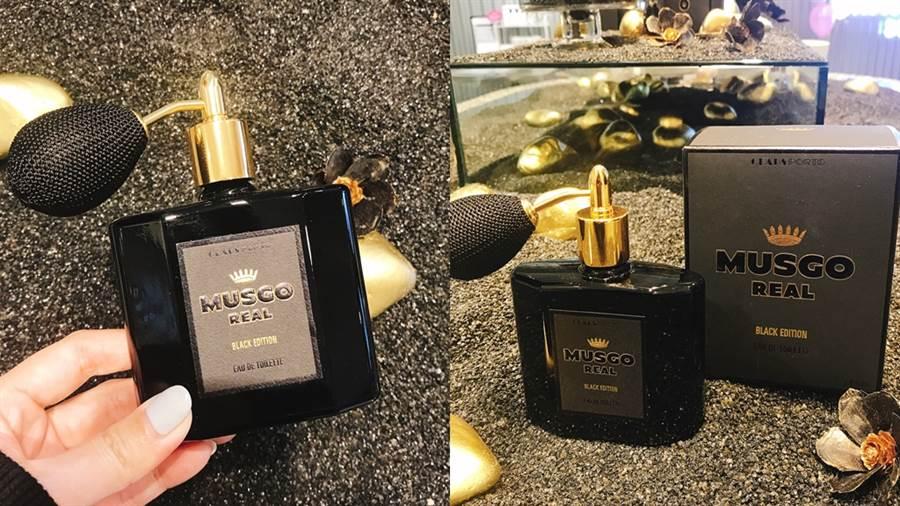 Black Edition淡香水DARK PRINCE靜謐黑限定版NT.3980元。(圖/邱映慈攝影)