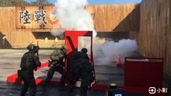 海軍陸戰隊特勤隊 實彈模擬攻堅公車遭挾持超逼真