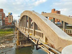 三峽拱橋修成狗皮膏藥