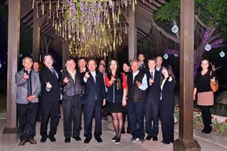 石岡區姊妹市日本鳥取縣三朝町長來訪  為台灣燈會暖身迎賓