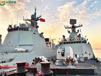 戰艦列陣 中巴海上練兵