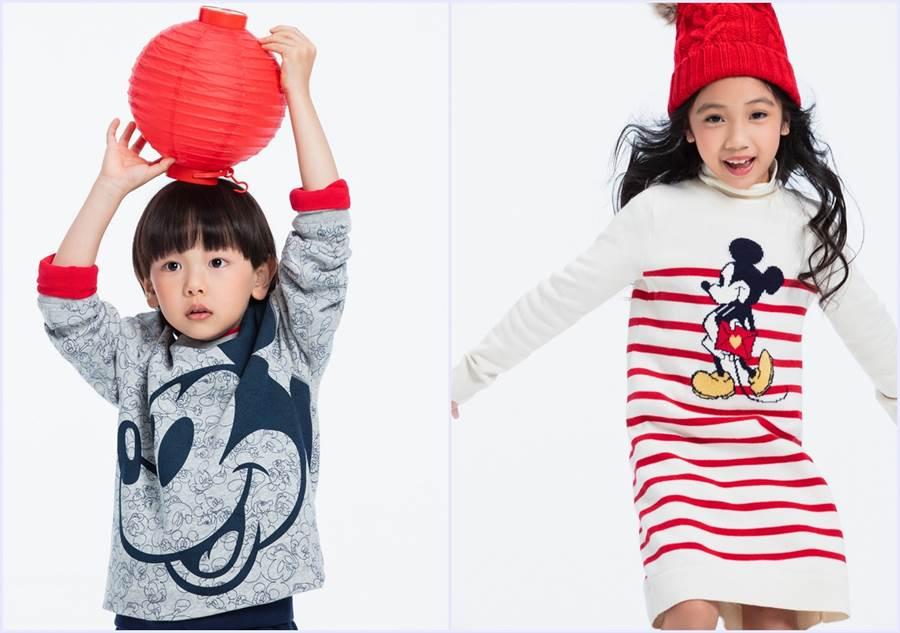 童裝迪士尼系列時尚有型,都享有五折優惠。(圖/品牌提供)