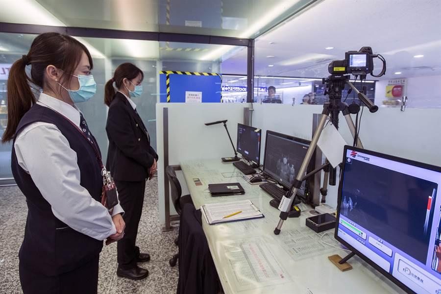 武漢市衛健委官網1月15日發布《新型冠狀病毒感染的肺炎疫情知識問答》指出,不能排除有限人傳人的可能。圖為桃園機場。(中時資料照)