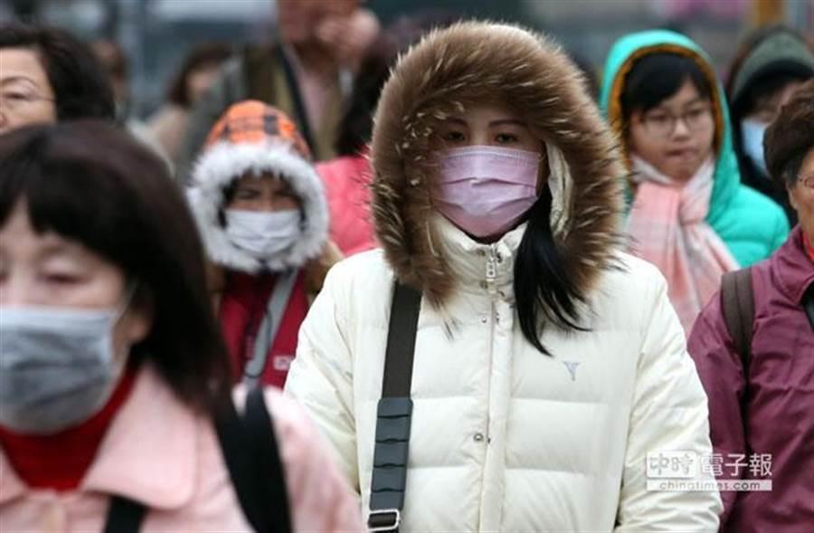 17日冷氣團南下,周六、日清晨最冷,中部以北下探11度°C。(本報資料照)