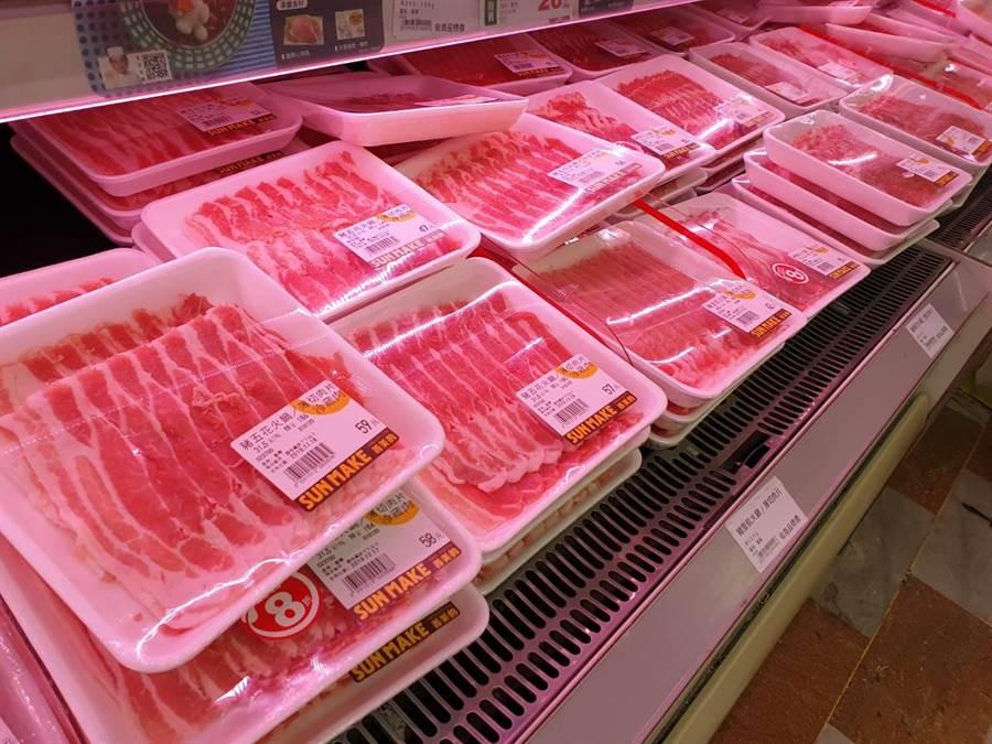 美國成功將瘦肉精豬肉賣到大陸,下一個將輪到台灣?(陳人齊攝)